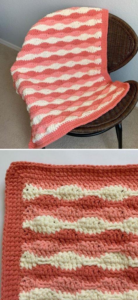 Cuddle Waves Blanket