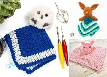 Beautiful Crochet Loveys For Babies