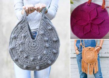 Stunning Crochet Boho Purses