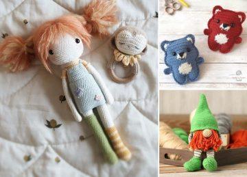 Cute Adorable Crochet Toys