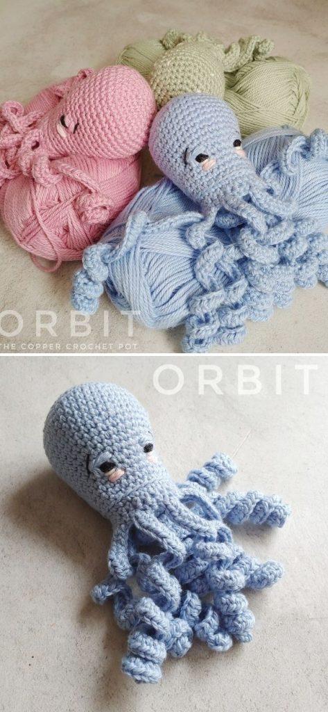 Orbit _ The Copper Crochet Pot
