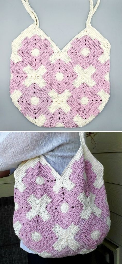 How to Crochet a Granny Purse