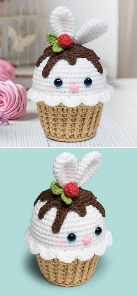 Free Bunny Cupcake