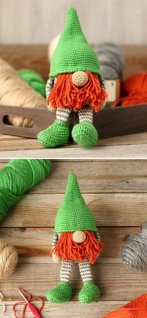 GnomeFree Crochet Pattern