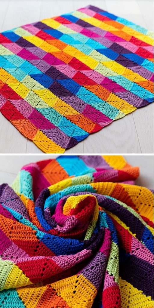 Colourful State of Mind Blanket