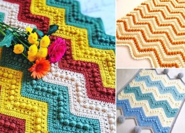 Adorable Easy Crochet Baby Blankets