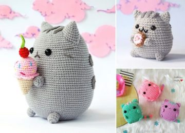 Adorable Little Fun Crochet Kitties