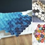 Amazing Hexagon Crochet Blankets