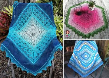 Beautiful Crochet Throws