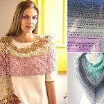 Beautiful And Feminine Lacy Crochet Shawls
