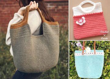 Beautiful Fun Crochet Bag Ideas