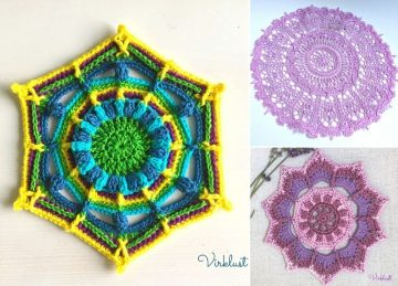 Beautiful Practical Crochet Mandalas