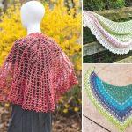 Lovely Feminine Spring Crochet Shawls