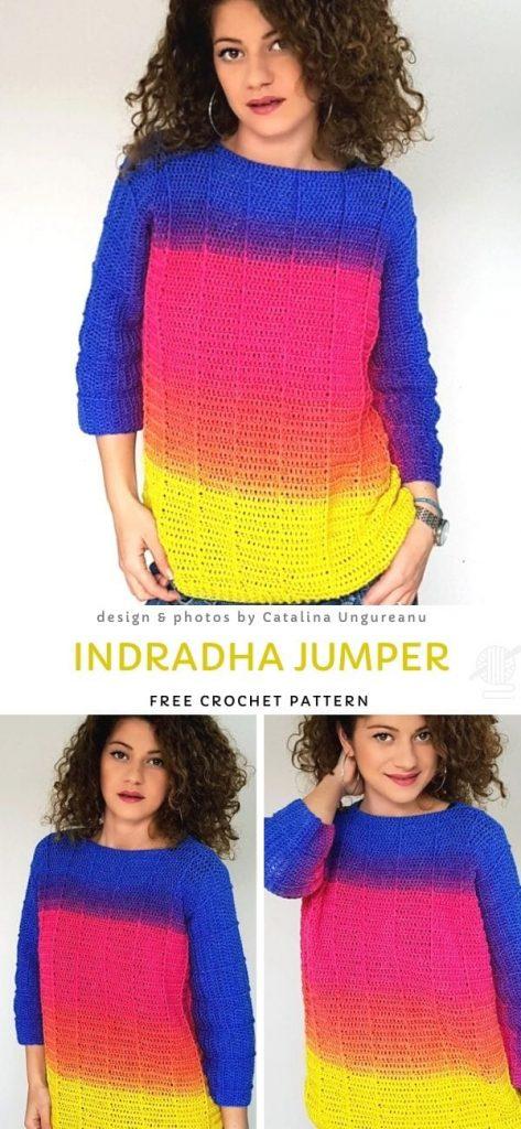 Indradha Jumper Free Pattern
