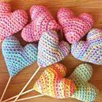How to Easily Crochet Heart Flower [Free Pattern + Tutorial]