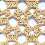 How to Easily Crochet Lace Stitch