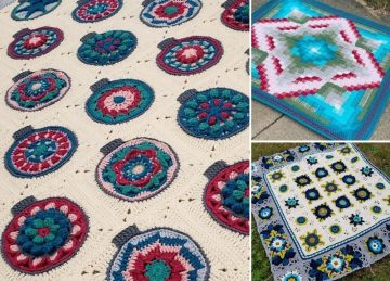 Stunning Crochet Afghan CALs For You to Try