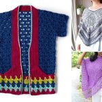 Delicate Summer Crochet Ponchos And Cardis