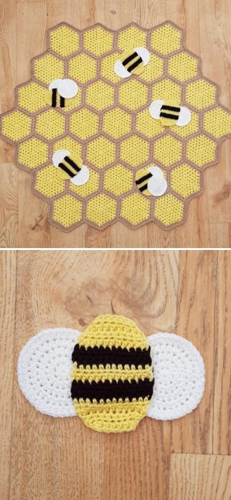 Busy Bumble Blanket