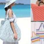 Gorgeous Fun Crochet Beach Bags
