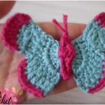 How to Fast Crochet  Easy Butterfly for Beginners [Free Pattern]