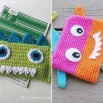 Crochet Monster Bags
