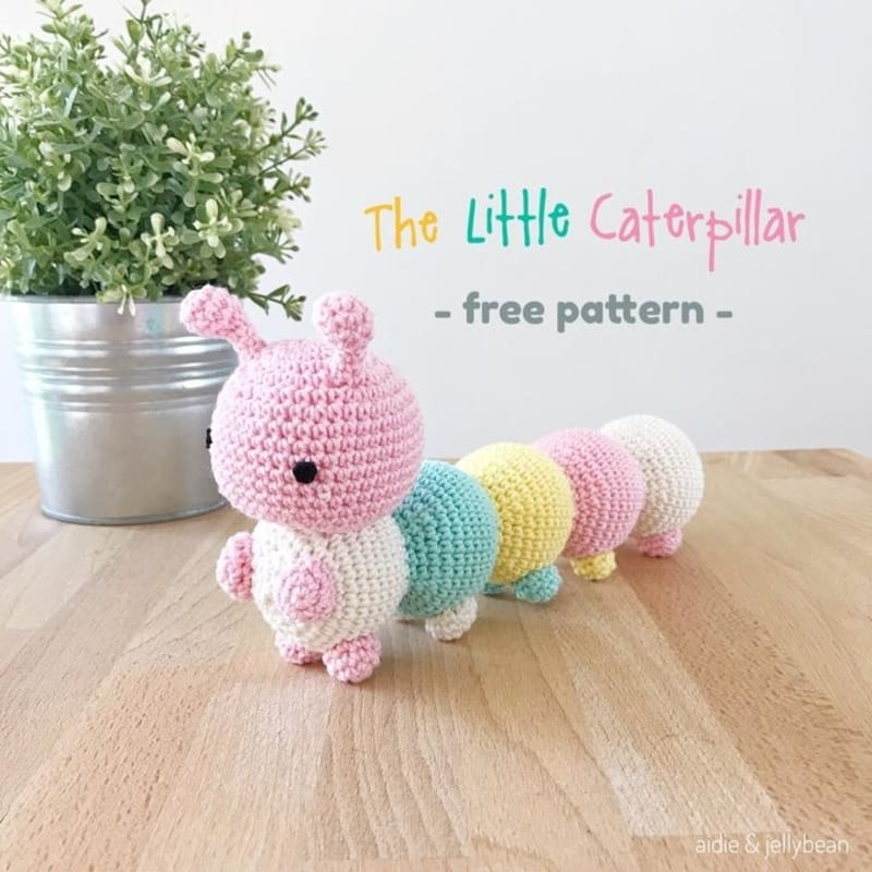 The Little Caterpillar Free Crochet Pattern