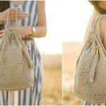 Wildrose Crochet Backpack