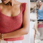 Comfortable and Flattering Crochet Tops