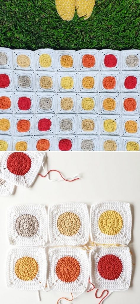 Sole di Cannero baby blanket