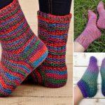 Comfy Crochet Slipper Socks