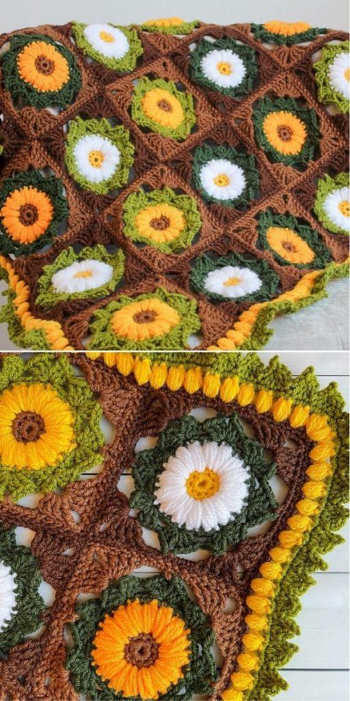 Flower Medley Blankie