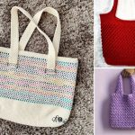 Structural Crochet Totes