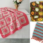 Crochet Blankets With Floral Motifs