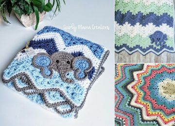 Adorable Easy Crochet Baby Blankets