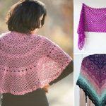 Beautiful Feminine Crochet Shawls