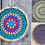Beautiful Fun Crochet Mandalas