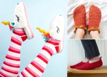 Comfy Crochet Slippers
