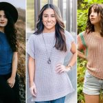 Feminine Breathable Crochet Tops