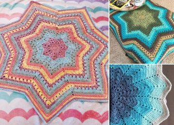 Lovely Star-Shaped Baby Blankets