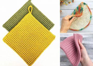 Practical Easy Crochet Potholders