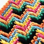 Apache Tears Stitch for Home in 5 minutes Crochet Free Pattern