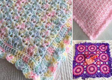 Stunning Crochet Baby Blankets