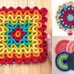 Stunning Crochet Mandala Decorations