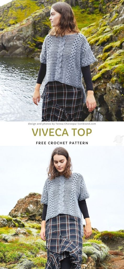 Viveca TopFree Crochet Pattern