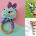 Cute Crochet Baby Rattle Ideas