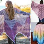 Elegant Crochet Shawls