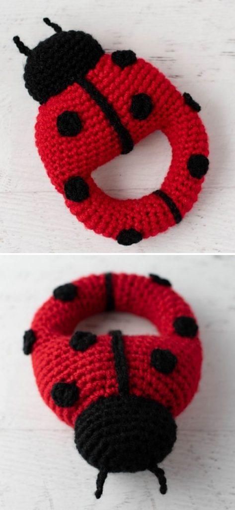 Louise the Ladybug Rattle