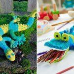 Colorful Reptiles Amigurumi