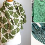 Beautiful Spring Green Crochet Shawls